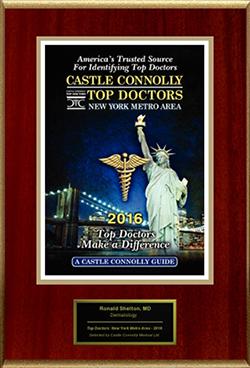 Dermatology News New York City - Castle Connolly Top Doctors Award