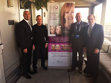 Dr Shelton at Halo laser conference