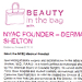 Dermatology News New York City - featured on Beauty in the Bag