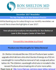 Ron Shelton Newsletter in December