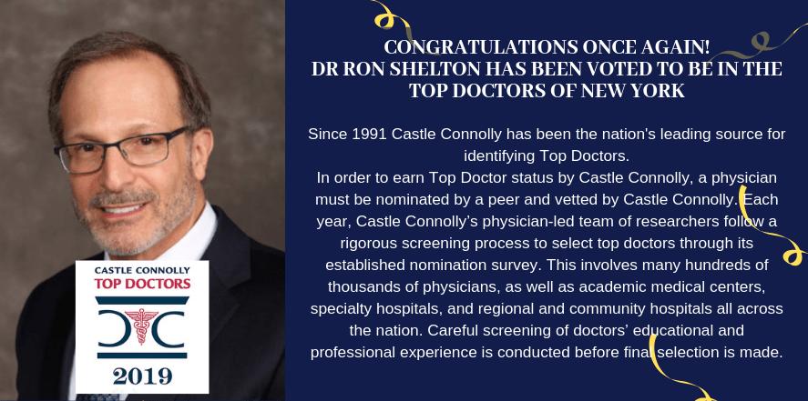 Castle Connolly Top Doctors 2019 - Dr Ron Shelton