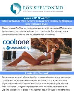 August newsletter Dr Ron Shelton