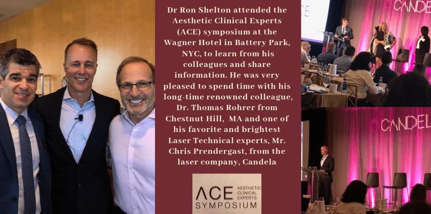Dr Shelton attending candel ace 2019