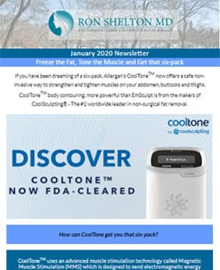 January 2020 newsletter - cosmetic dermatology