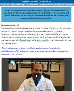 Dr Shelton newsletter - September